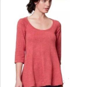 Anthropologie Tops - Anthropologie Deletta Sz Small Orange Pink Tunic S